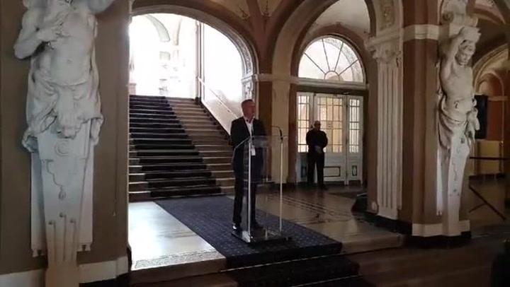 Borkai Zsolt sajtótájékoztatója