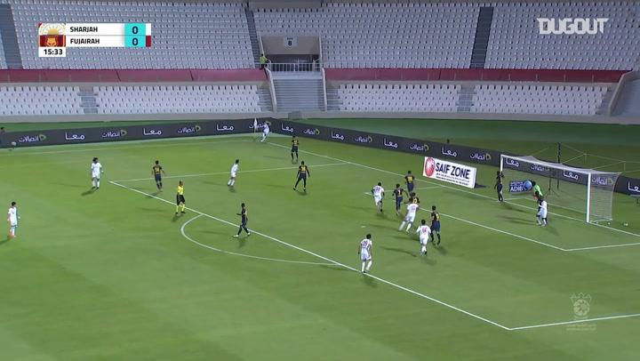 Arabian Gulf Cup: Sharjah 5-1 Al Fujairah