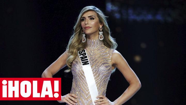 Ángela Ponce nos cuenta cómo vive las últimas horas antes de la gran final de Miss Universo