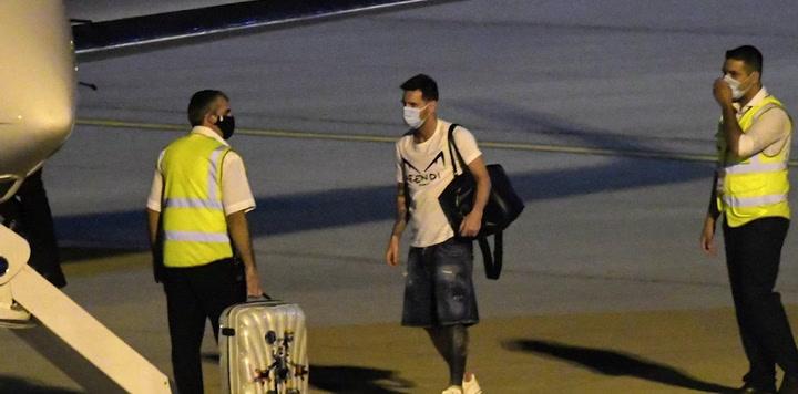 Messi ya vuela hacia Barcelona