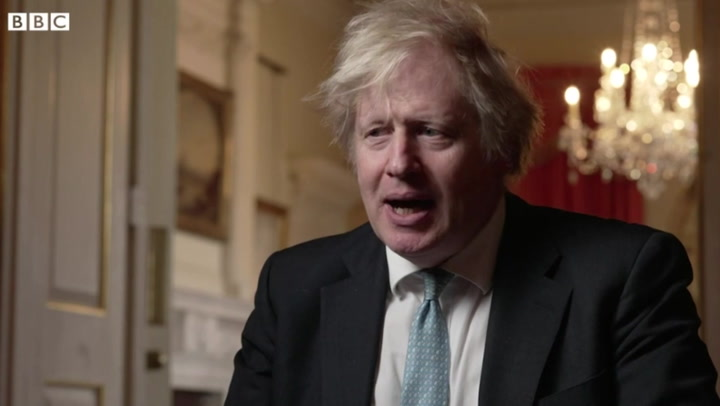 Boris Johnson calls Northern Ireland Protocol checks 'absurd'