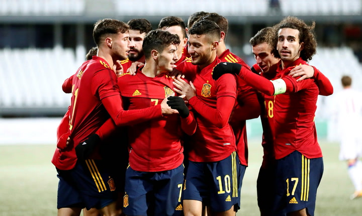Mira los goles del Islas Feroe-España sub-21