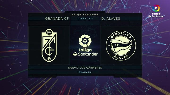 LaLiga Santander (Jornada 2): Granada 2-1 Alavés