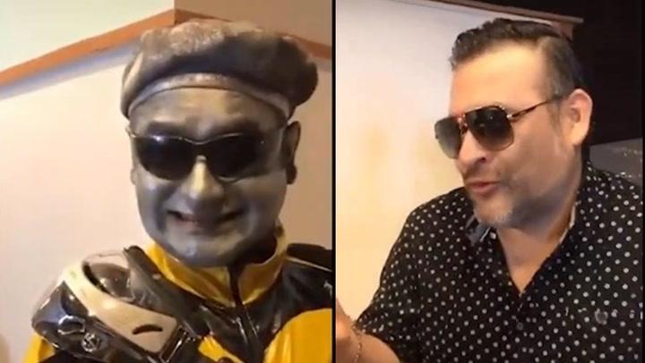 Robotín y Juan Carlos Orderique recrearon escena de Juego de Gemelas en TikTok