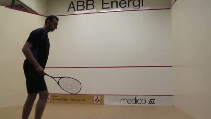 Squash: Hvordan utføre en bra serve