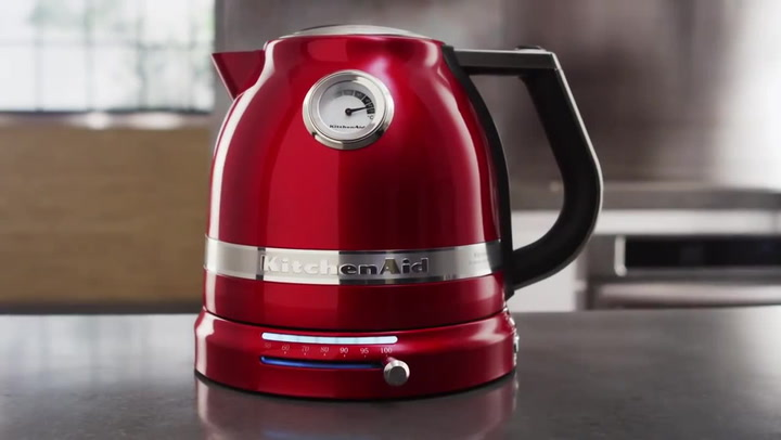 Preview image of KitchenAid Artisan Cordless Kettle, 1.5 Litre video