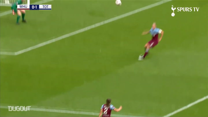 Spurs Women's goals vs West Ham in 2019-20