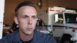 Two paramedics with Community Ambulance share their stories responding to the shooting.