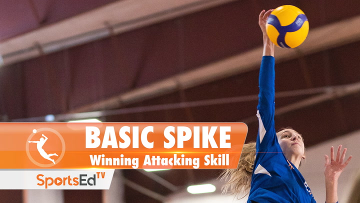 BASIC SPIKE: Winning Attacking Skill