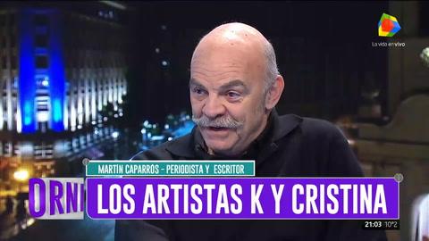 Martín Caparrós: Si Tinelli es candidato volvería a la Argentina para irme