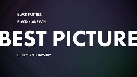 Lista de nominados premios Óscar 2019