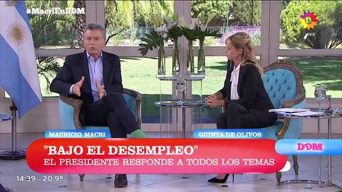 Macri: La inflación está bajando a menor velocidad de la que imaginé