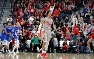 Coach Menzies, Noah Robotham React to UNLV Victory Over BYU