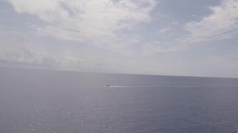 EEUU prueba resistencia de buque de guerra con megaexplosiones