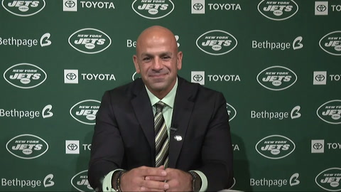 What did you think of Robert Saleh's introduction as Jets head coach?