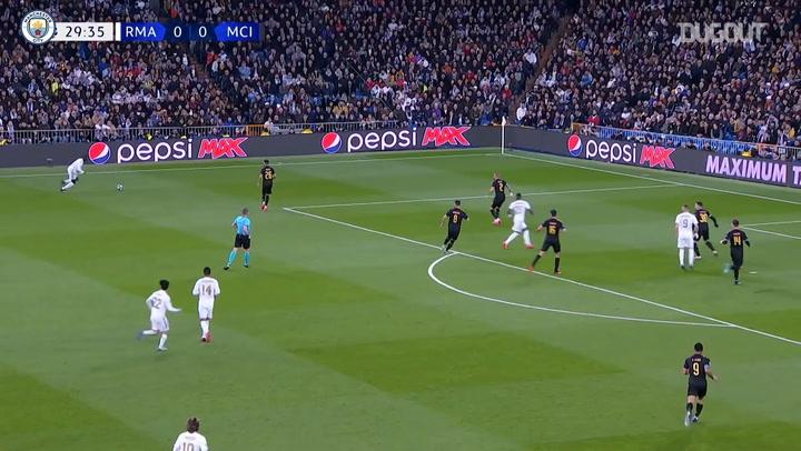 Manchester City İlk Kez Şampiyonlar Ligi'nde Real Madrid'i Mağlup Ediyor