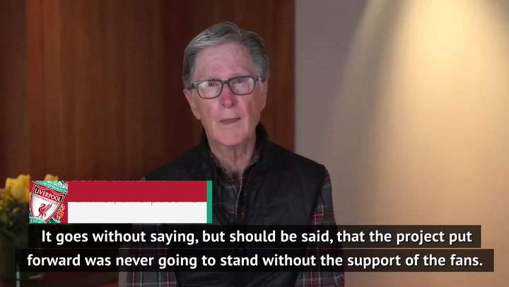 'I'm sorry' - John W Henry's plea to Liverpool fans