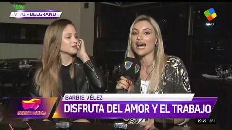 Barbie Vélez desnudó su historia de amor con Lucas Rodríguez
