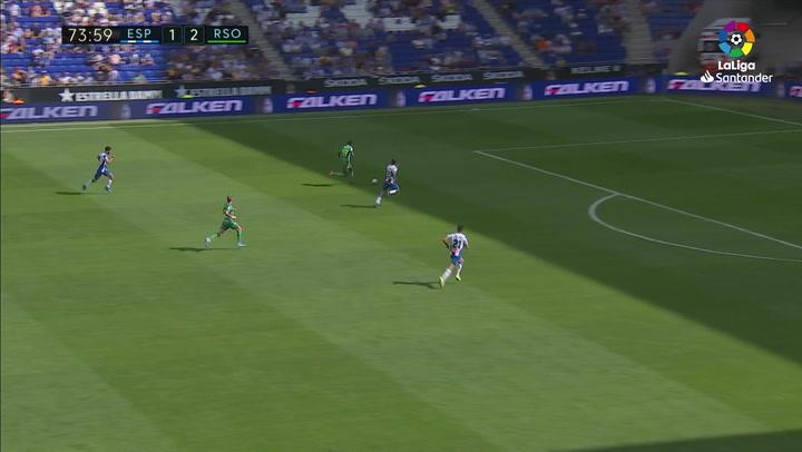 Gol de Isak (1-3) en el Espanyol 1-3 Real Sociedad