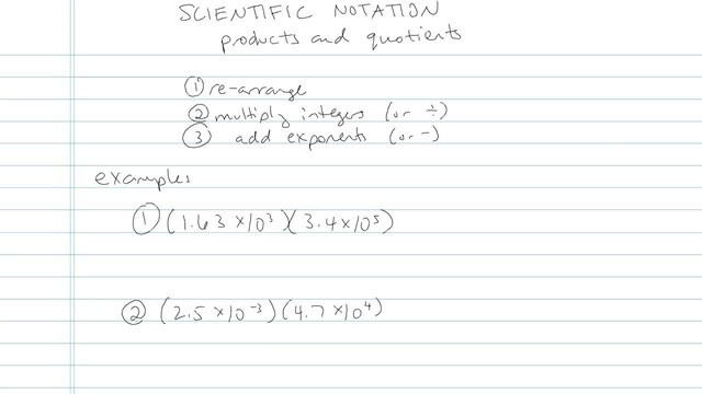 Scientific Notation - Problem 7