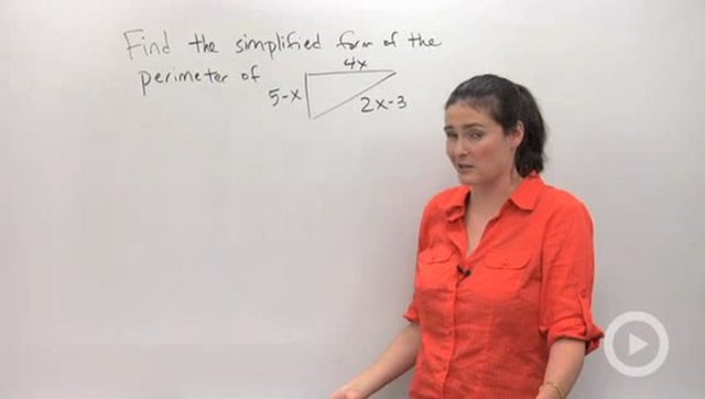 Simplifying Expressions and Combining Like Terms - Problem 3
