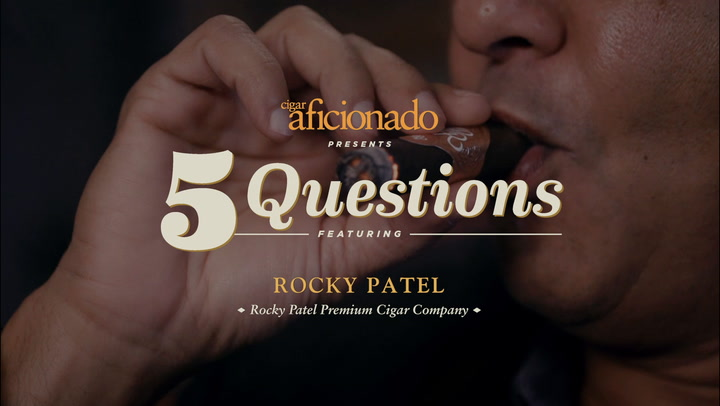 Five Questions: Rocky Patel, Rocky Patel Premium Cigar Co.