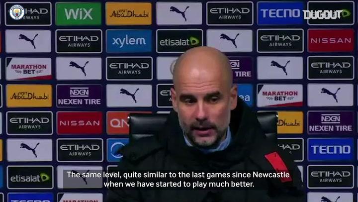 Guardiola: Man City playing like champions again