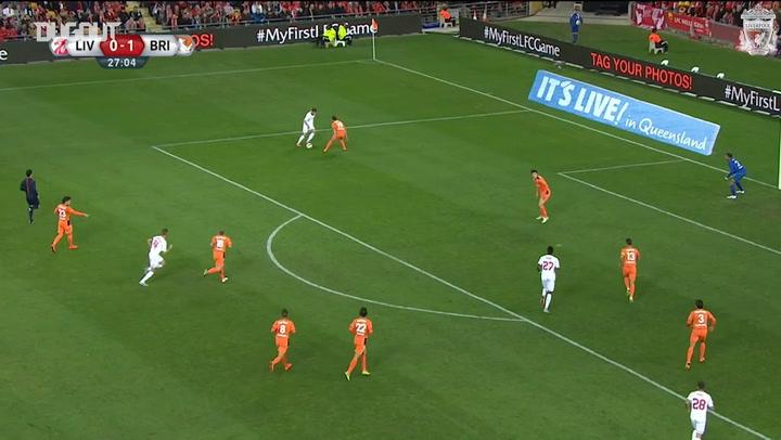 Liverpool's best goals in Australia