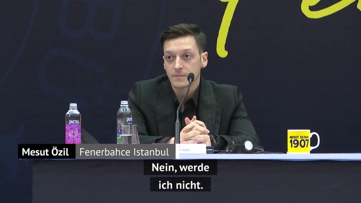 """Özil: """"Werde nie wieder in der Bundesliga spielen"""""""