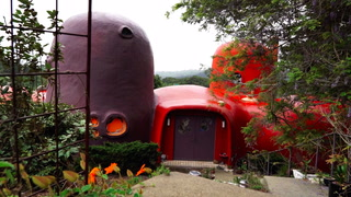 Take a Rare Look Inside the Famous 'Flintstone House' in California