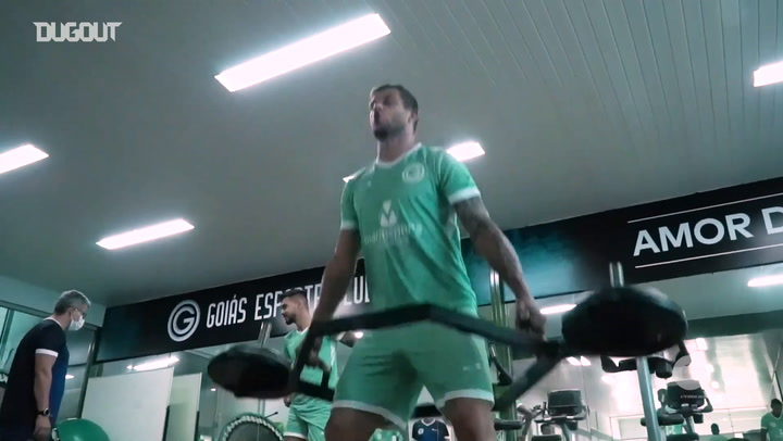 Goiás train harder looking forward game against Athletico