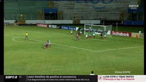 Gol de Johan Venegas al Marathón (Liga Concacaf)