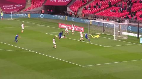 Leicester City 1-0 Southampton (Semifinales de FA CUP)