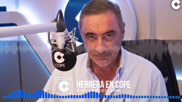 Carlos Herrera se mete con Maialen y aplaude a Estrella Morente
