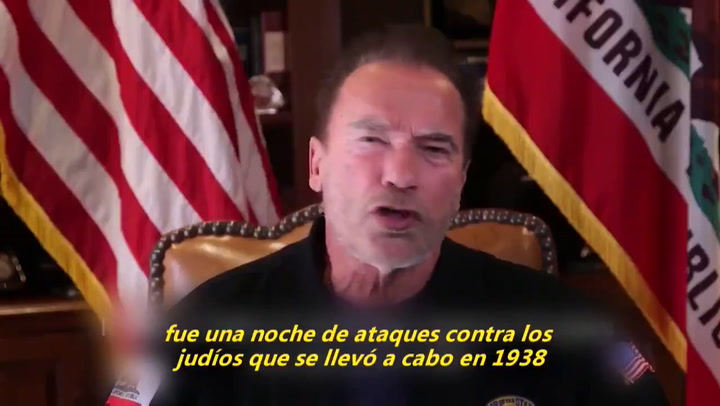 Schwarzenegger compara ataques al Capitolio de EEUU con el ascenso nazi