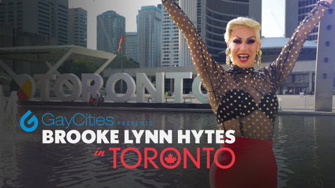 Brooke Lynn Hytes in Toronto