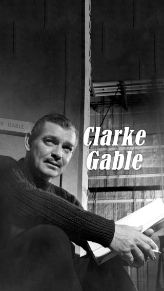 Klark çekenlerin kralı; Clark Gable