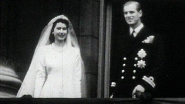Así fue la boda de la princesa Isabel y Felipe Mountbatten
