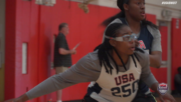 2018 USA Basketbal U1& World Cup Team Trials - Best Of Slomo
