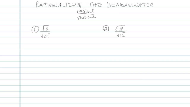 Rationalizing the Denominator with Higher Roots - Problem 5