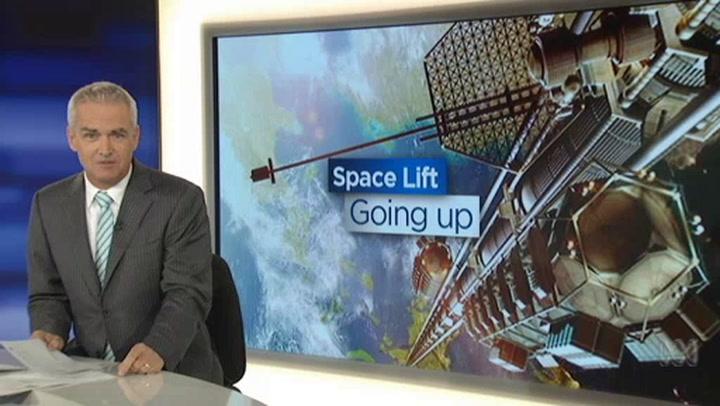 Bekijk een video van de ruimtelift: