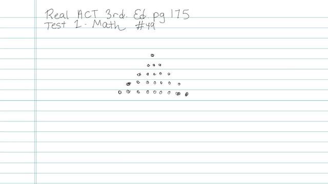 Test 1 - Math - Question 49