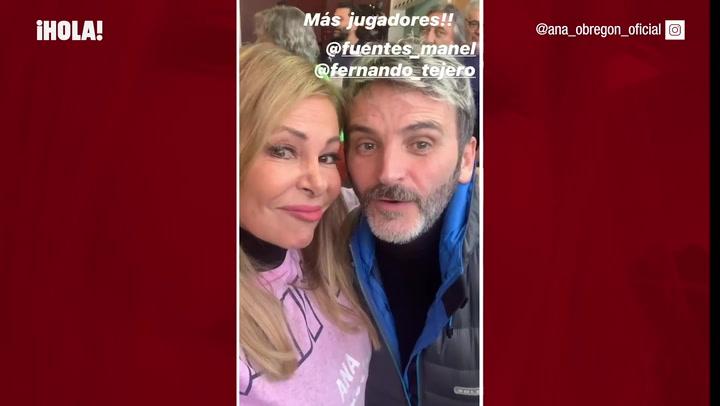 Ana Obregón, Fernando Tejero, Ortega Cano y los hermanos Carmona, unidos por una buena causa
