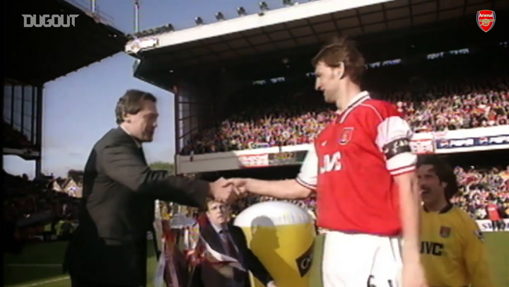 Arsenal complete the double against Newcastle in 1998