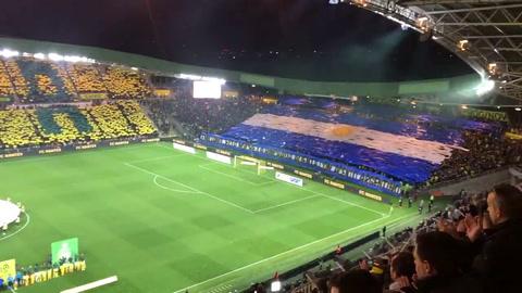 El emotivo homenaje de Nantes y Saint Etienne a Emiliano Sala