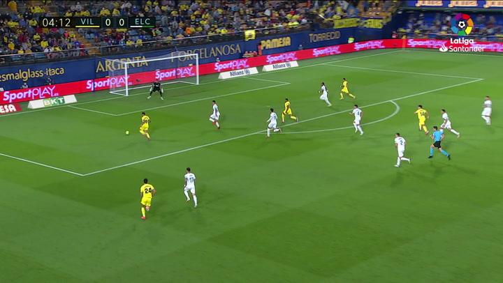 Gol de Yeremi Pino (1-0) en el Villarreal 4-1 Elche