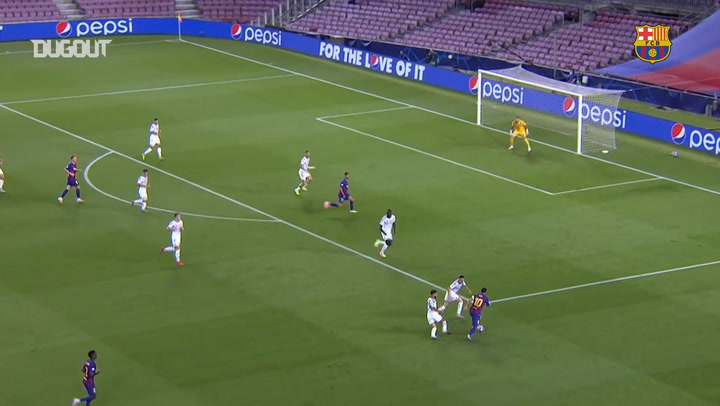 Lionel Messi scores an incredible solo goal for FC Barcelona vs Napoli