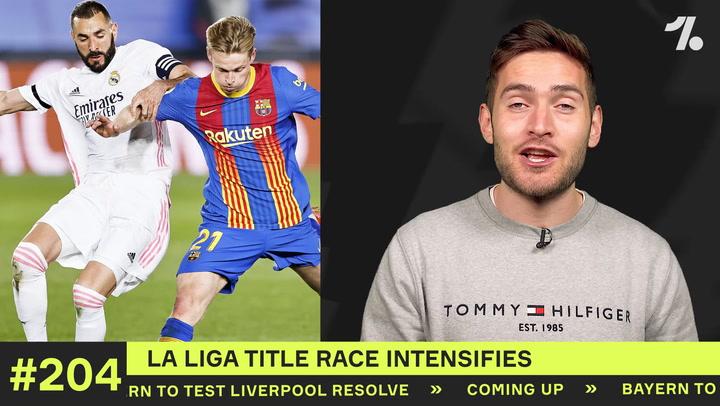 La Liga title race hots up!