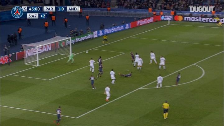 Neymar Jr's stunning goal vs Belgian club Anderlecht