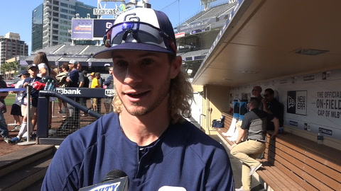 Travis Jankowski on opportunity, Hosmer & his World Cup team